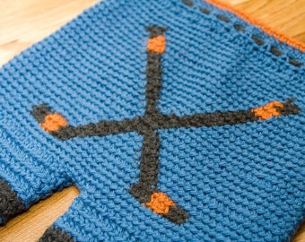 Crochet Pattern--Hockey Sticks Shorties or Longies