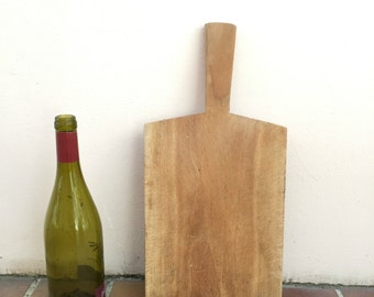 ANTIQUE VINTAGE FRENCH bread or chopping cutting board wood 117