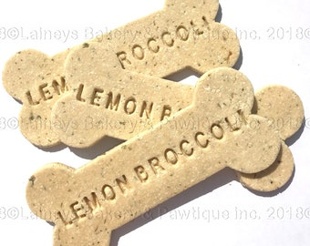 Laineys Big Stamped Natural Dog Cookies