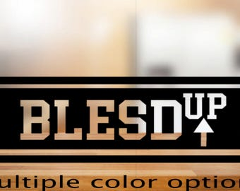 BLESD Up Decal