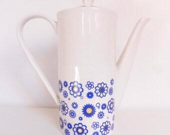 coffee pot teapot, vintage, retro, vintage coffee, tea coffee pot