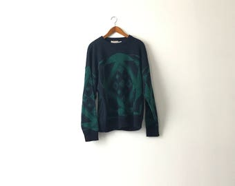 Abstract 90s Knit Sweater