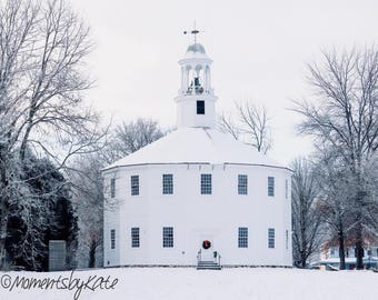 Old Round Church in Vermont