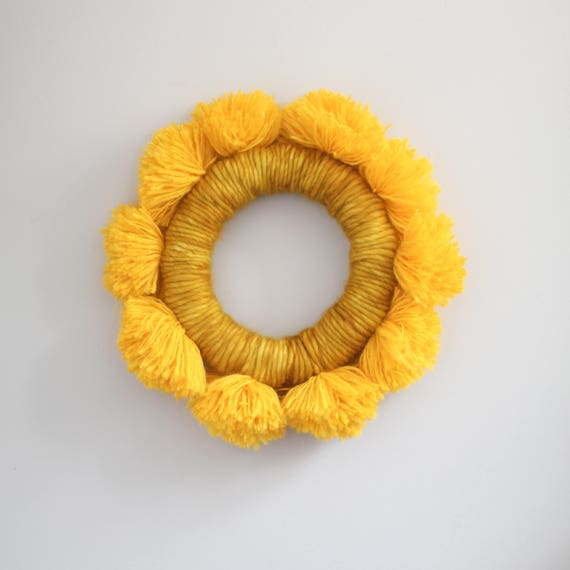 SUNSHINE Fiber Art Wall Hanging Sunny