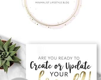 229 - Sparklers & Champs, LOGO Premade Logo Design, Branding, Blog Header, Blog Title, Business, Boutique, Custom, Gold, Pink, Simple