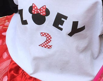 Disney Inspired Name Mickey Letters Digital Download for iron-ons, heat transfer, T-Shirt, Totes, Bags,Scrapbooking, Two Sizes,  YOU PRINT
