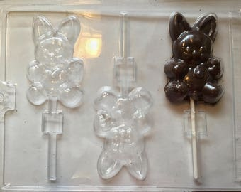 1-Bunny Candy Mold, Easter Candy Mold, Easter Bunny, Rabbit Candy Mold, Easter Candy, Easter Basket, Candy Mold, Bunny Candy Mold,