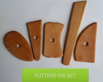Creative mark  potters rib set of 5 potters tools Discount art Supply