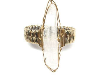 Britt-Bolton-Crystal Watchband Bracelet