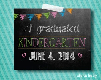 Kindergarten Graduation photo prop