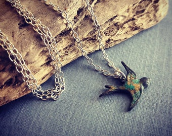 Super Sale Bird Charm Necklace