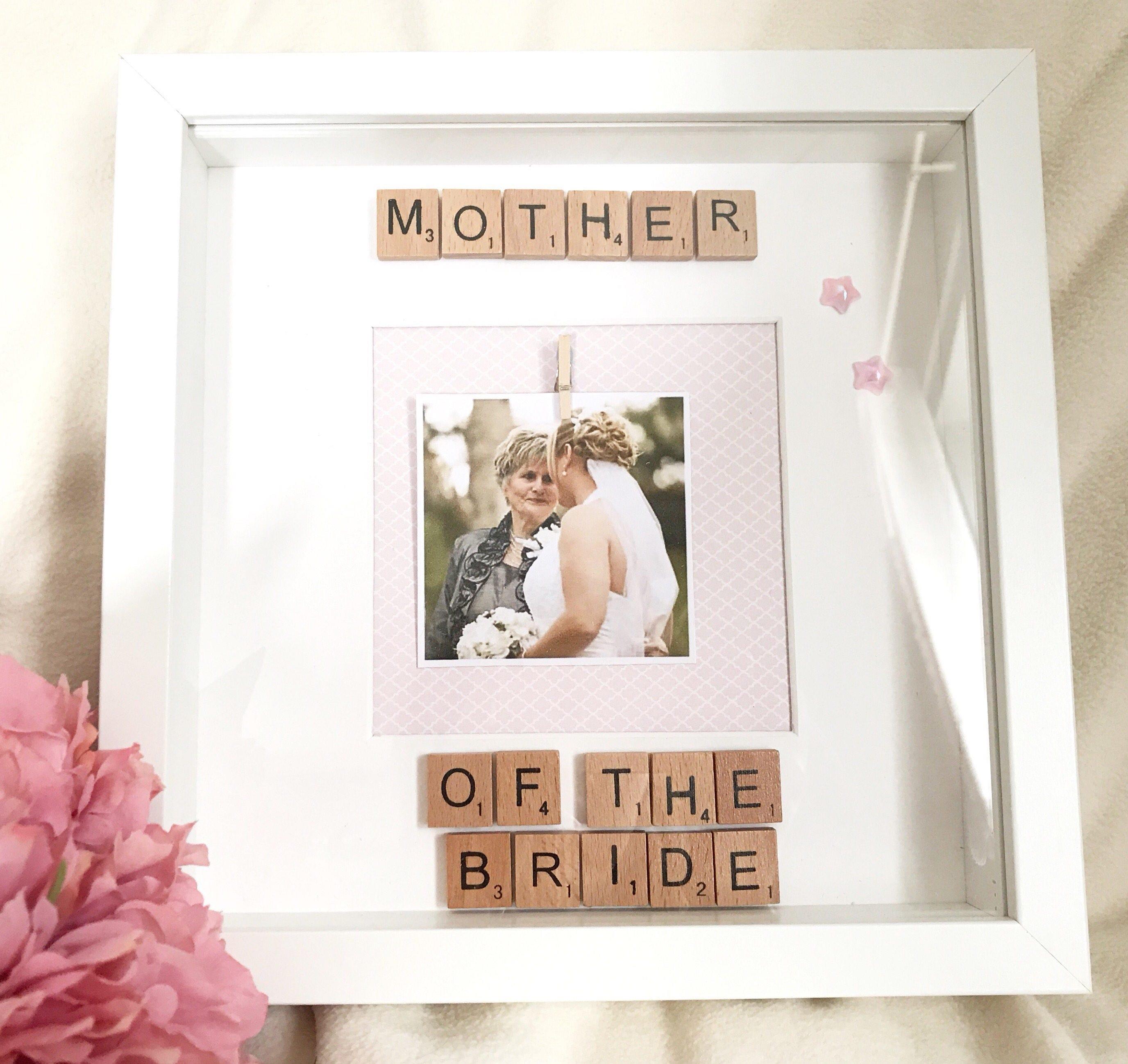 Mutter der Braut-Rahmen Mutter der Brautgeschenke Hochzeit