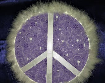 Heavenly peace sign