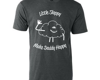 Troll movie Cloud Little Slappy Make Daddy Happy Graphic T-Shirt Tee