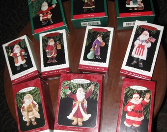 Hallmark Merry Olde Santa Collector Complete Series