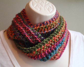 Summer Garden in Winter Infinity Cowl Long