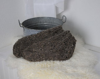 Bulky Knit Sock Knitting Pattern