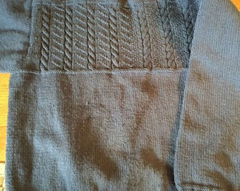 Cable sweater 52 inch chest