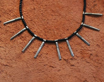 Tuareg Silver Pendant African Ethical Saharan Handcrafted