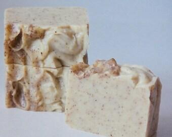 Soapnut Peppermint Shampoo Bar.