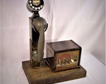 Space Saver Telephone And Switchboard  GREAT GIFT!