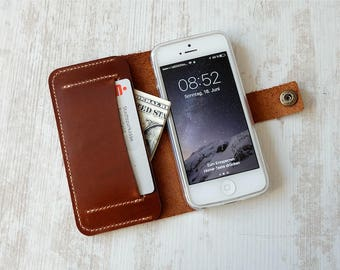 iPhone SE wallet case, iPhone 5 s wallet case, iPhone SE leather case, iPhone 5 s leather case, iPhone SE case, iPhone 5 s case