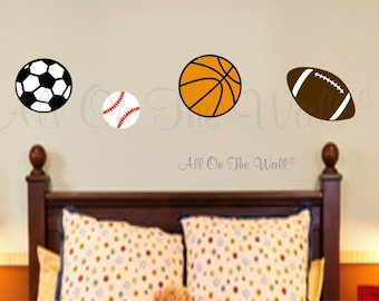 Sports Decor Etsy - Sporting wall decals