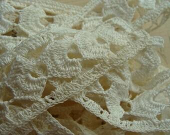 Antique Lace Vintage 1930s  Needlework Lace Trim