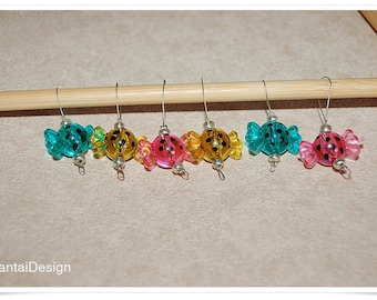 Stitch Markers for knitting candies that do not thicken