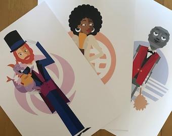 Epcot 35th anniversary prints