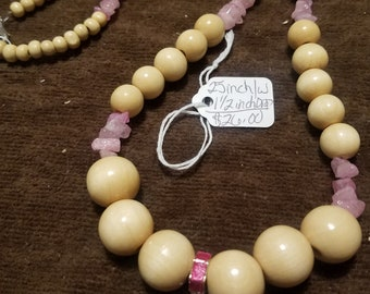 Breast Cancer Awareness Ribbon Necklace