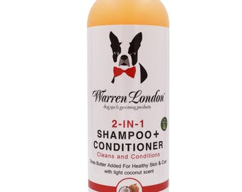 2-in-1 Dog Shampoo Plus Conditioner