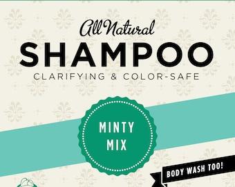 Minty Mix™ Organic Shampoo (Trial Size)