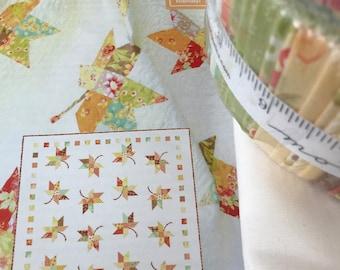 Twirl Quilt Kit - Moda Fabric by Fig Tree