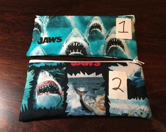 Jaws Coin or Pencil/Makeup Bag