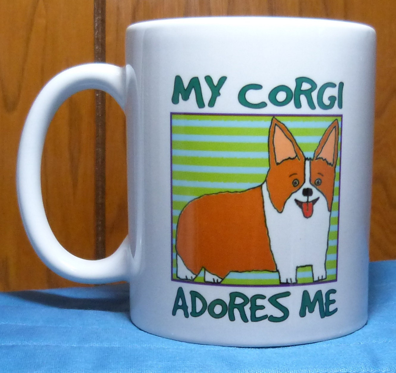 corgi mug dog coffee mug dog lover gift corgi gift coffee