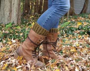 Textured Boot Cuffs