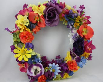Bold Summer Wreath