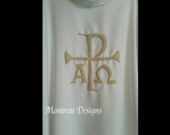 Dalmatic Custom Embellishment