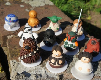 Star Wars: Adoo disguised as a film of polymer clay character