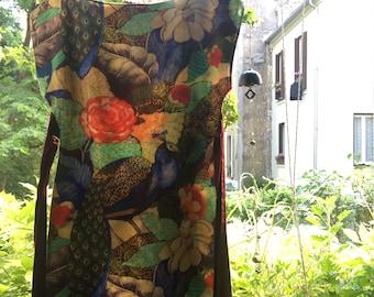 Dress / tunic pattern sacred Peacock design
