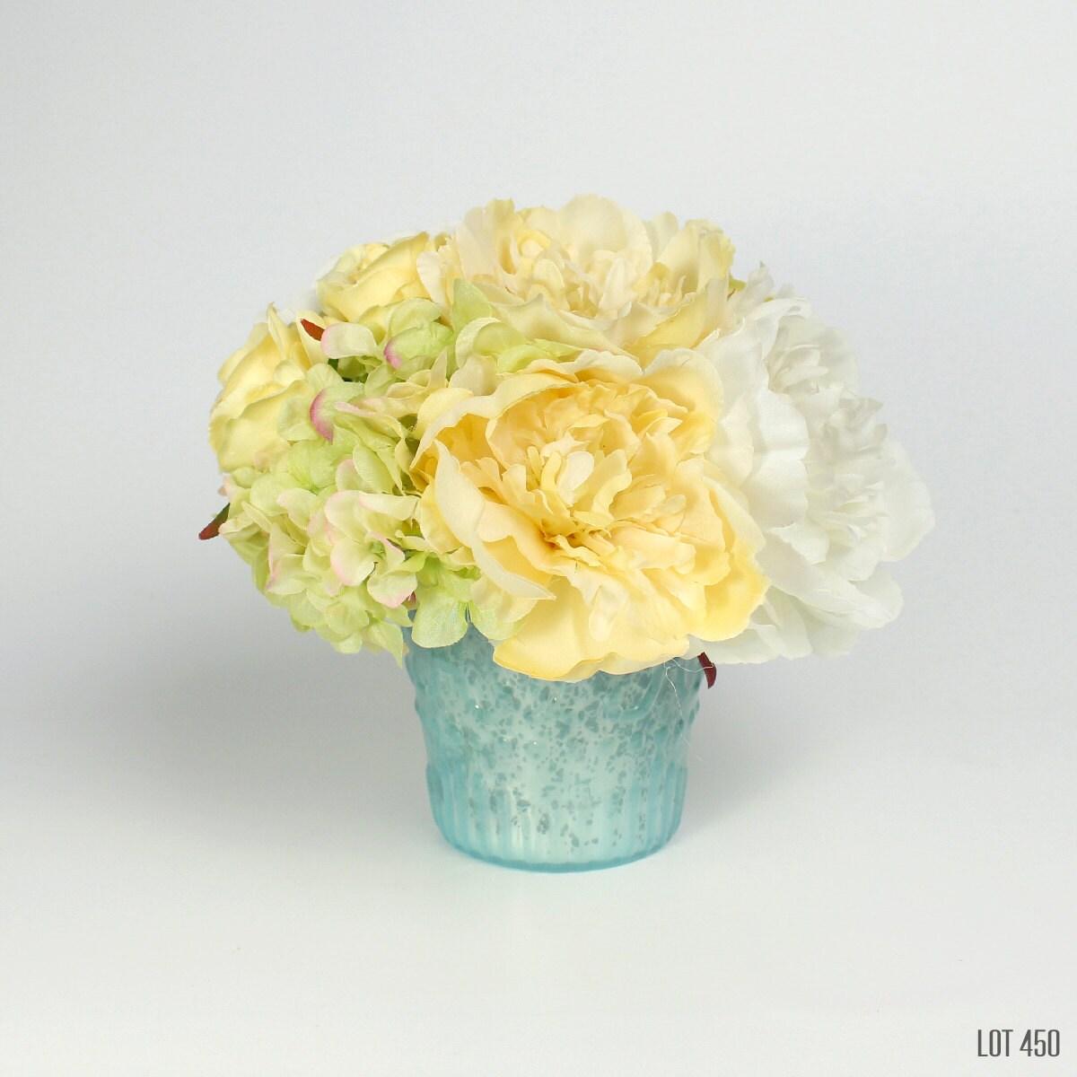 Easter flower arrangement yellow centerpiece silk floral zoom reviewsmspy