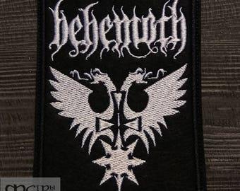 Patch Behemoth logo Black Metal band.