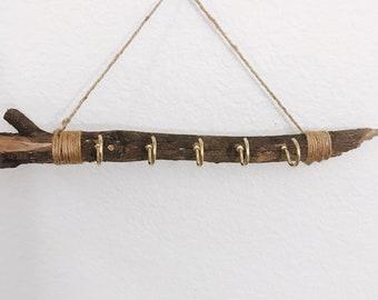 Wooden Necklace Hanger