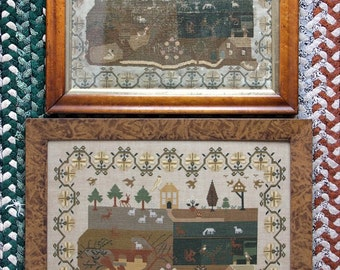 Il 1817 (a Faithfully Reproduced Antique Sampler) : Cross Stitch Pattern by Heartstring Samplery