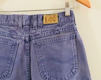 1980's vintage colored LEE jeans, vintage Lee jeans, 1980's Lee jeans, Lee mom jeans
