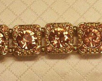 Costume Jewelry Rhinestone Necklace
