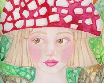 Mushie Fine Art Print