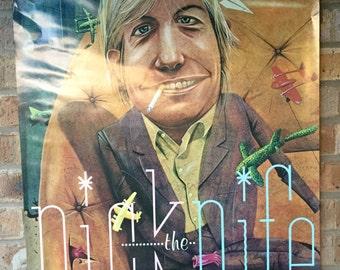 "1982 Nick Lowe ""Nick the Nife"" Promo Poster"