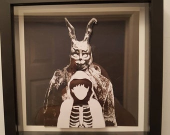 Donnie Darko Decoupage boxframe 23 x 23